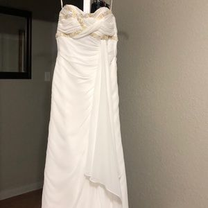 Sottero and Midgley ivory beaded wedding gown